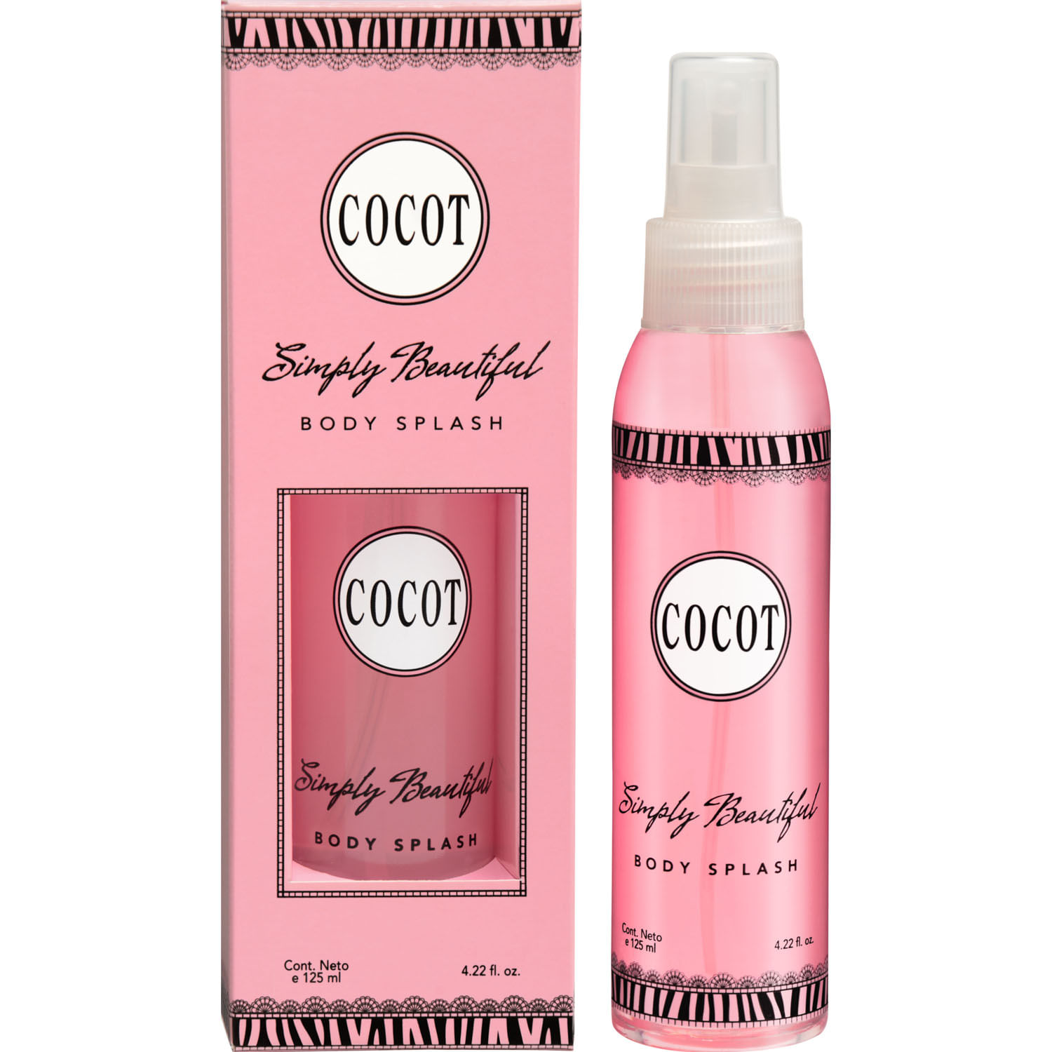Body Splash Simply Beautiful x 118 ml