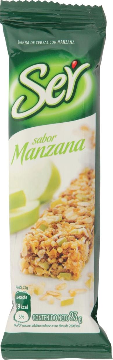 Barra Manzana x 23 gr