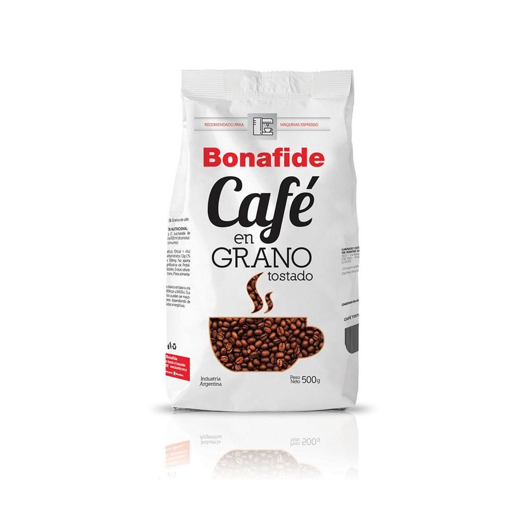 Café en Grano Tostado x 500 gr