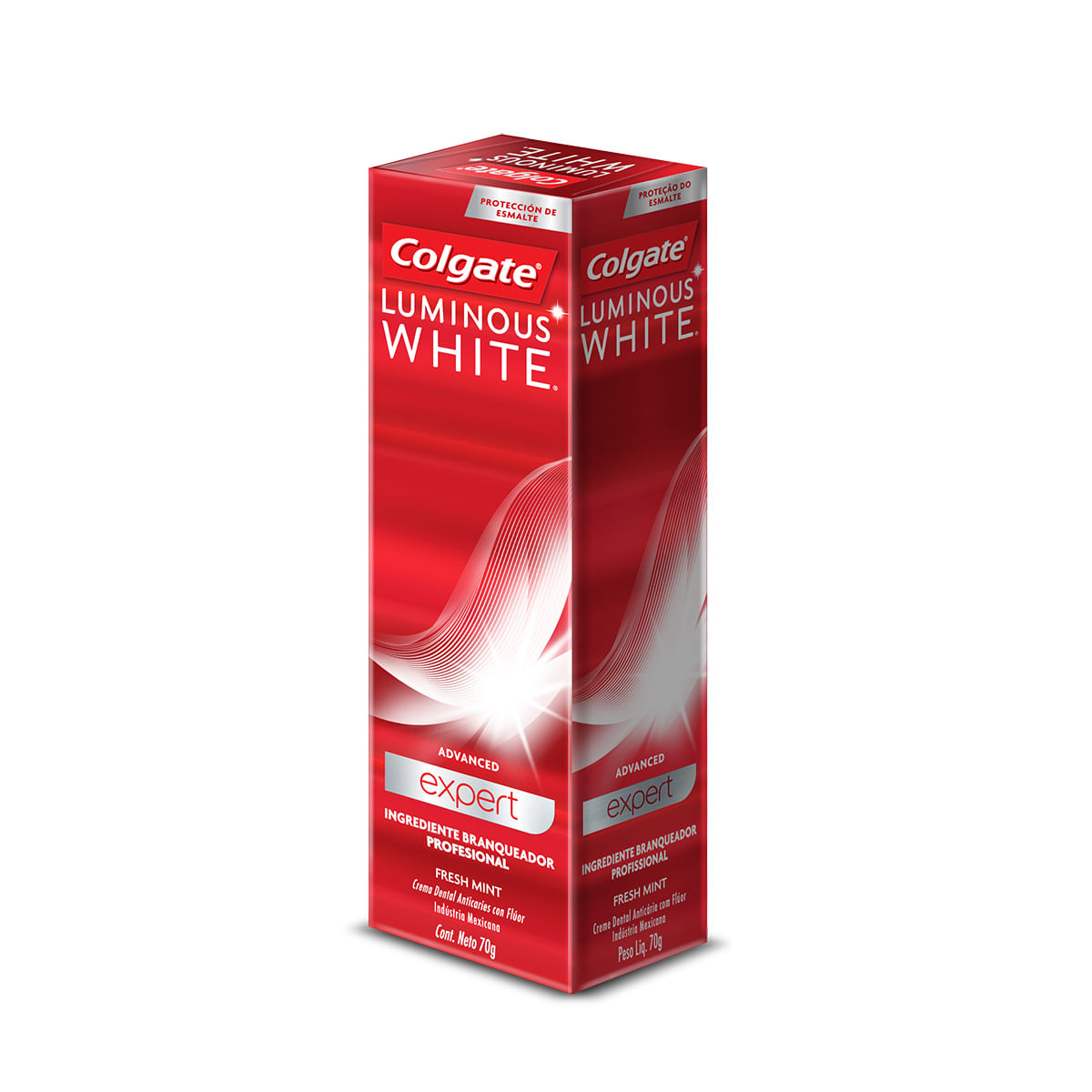 Dentífrico Luminous White Advanced Expert x 70 gr