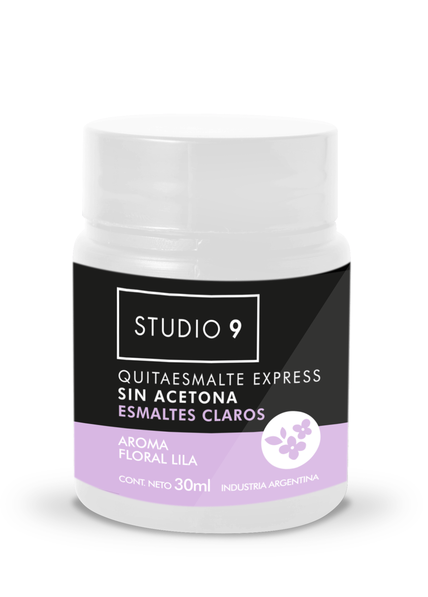 Quitaesmaltes Express Lila Claro x 30 ml