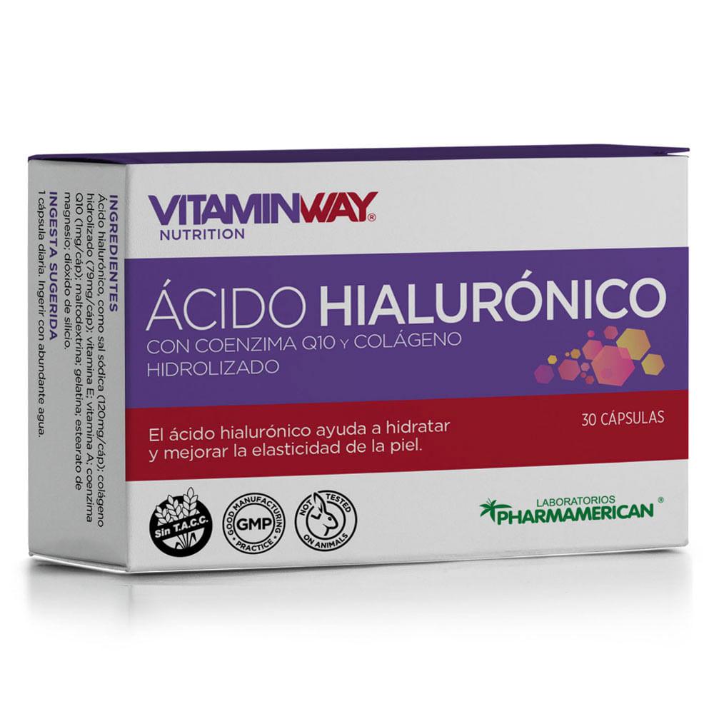 Ácido Hialuronico x 30 Cápsulas