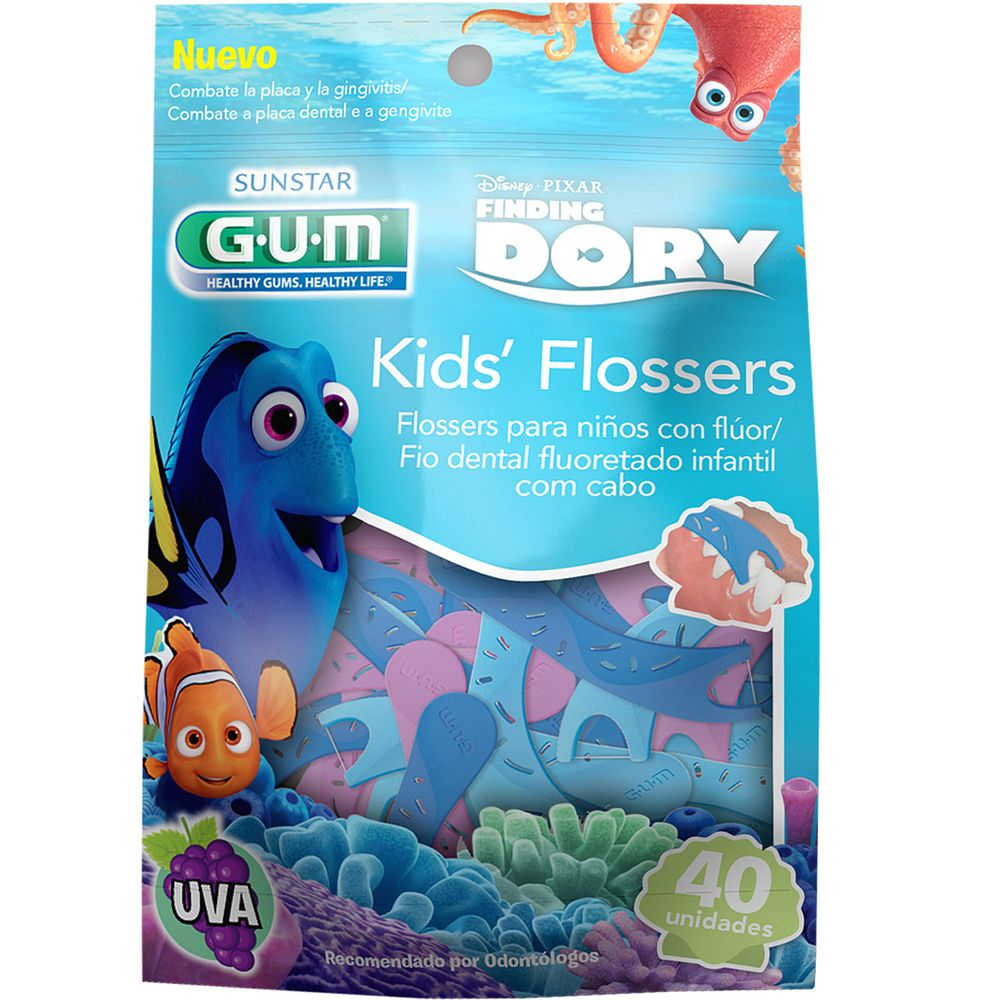 Flossers-Gum-Infantiles-Dory-x-40-Un.