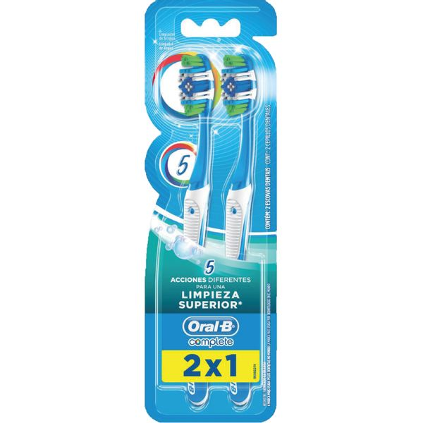 Cepillo-dental-Complete-pack-x-2-ud