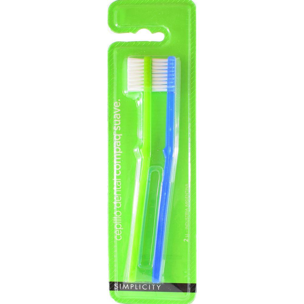 Cepillo-dental-Compaq-x2-Un.-