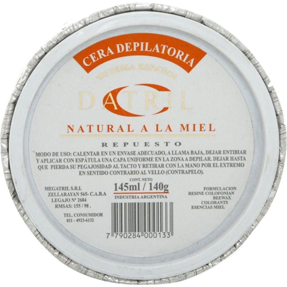 Repuesto-Crema-Depilatoria-sistema-español-Miel-x-140-gr