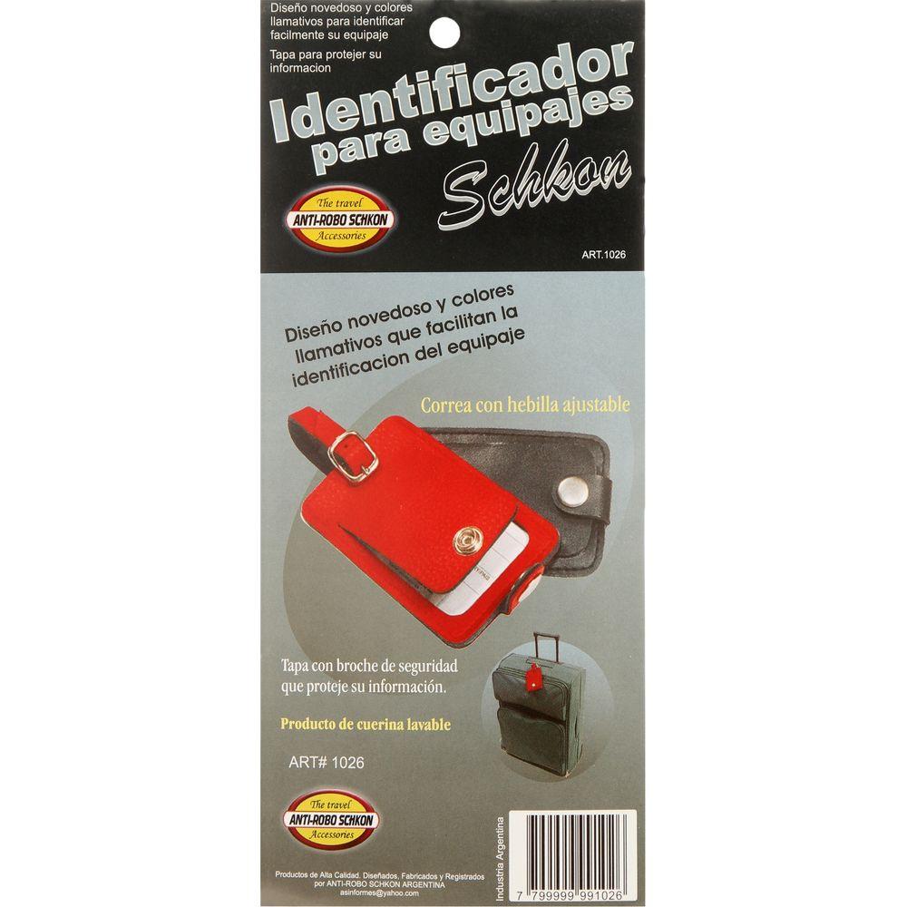 Identificador-para-Equipaje-hebilla-ajustable-gris