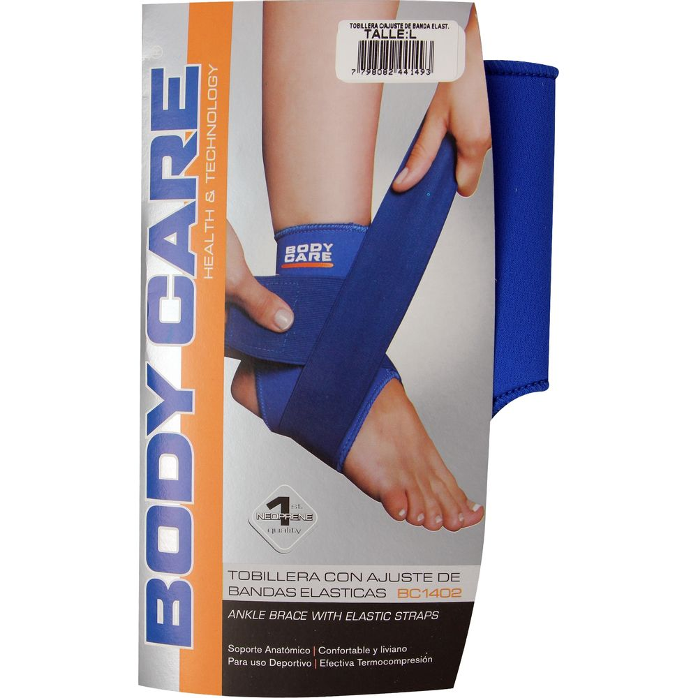 Tobillera-con-ajuste-elastico-de-neoprene-L-uso-deportivo-