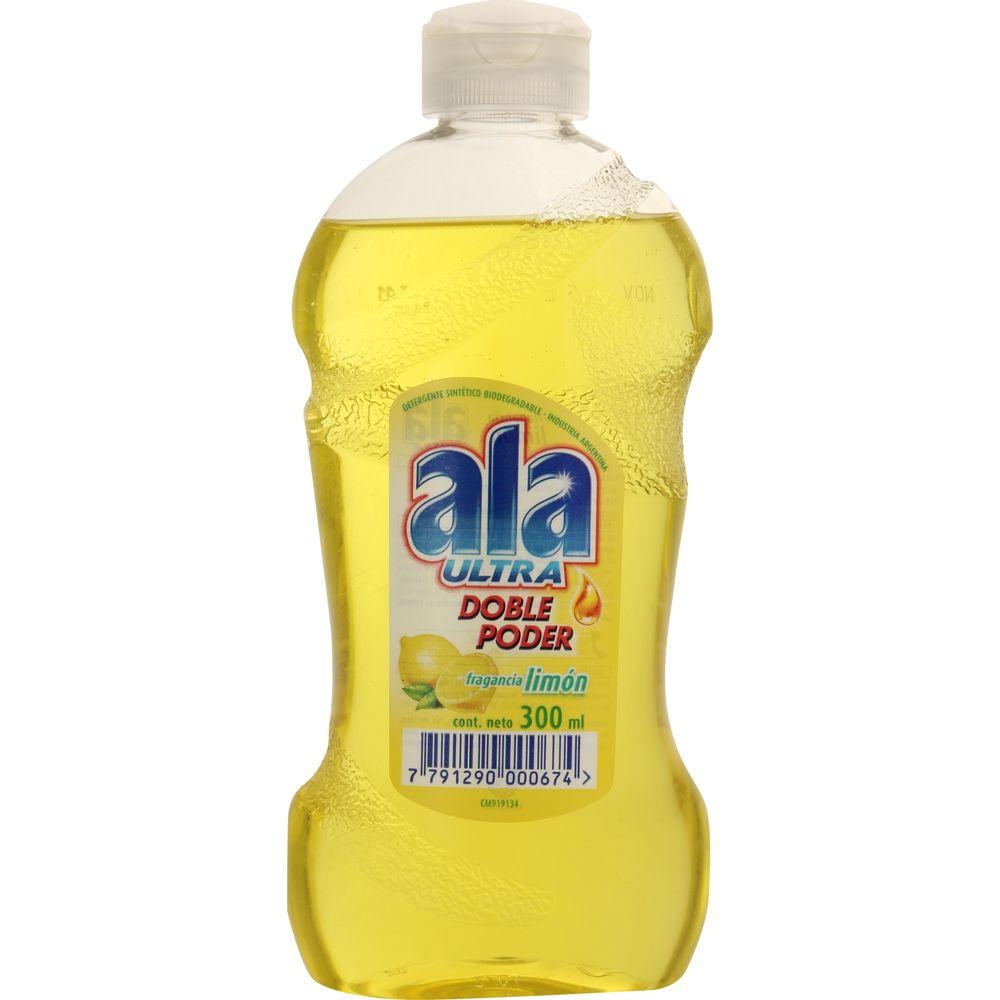 Lavavajilla-cremoso-limon-Ala-ultra-botella-x-300-ml