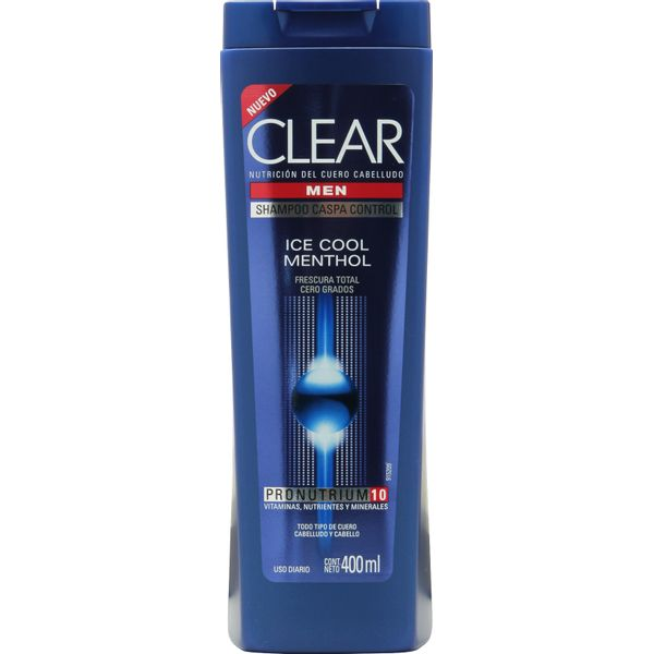 Shampoo-Clear-anticaspa-cool-menthol-botella-x-400-ml
