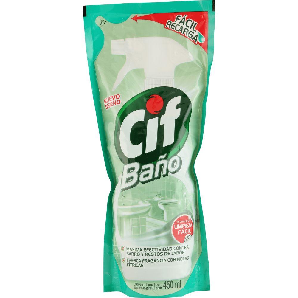 Limpiador-cif-baño-Repuesto-x-450-ml