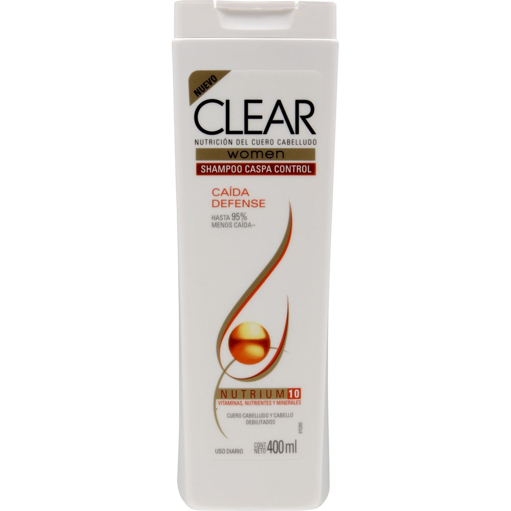 Shampoo-Clear-anticaspa-caida-defense-botella-x-400-ml