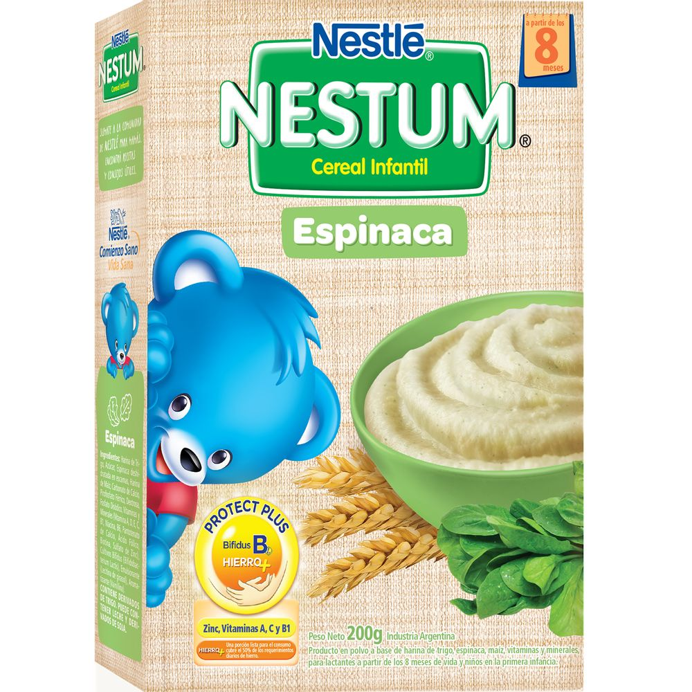 Alimento-Infantil-vegetales-Espinaca-y-Maiz-x-200-gr