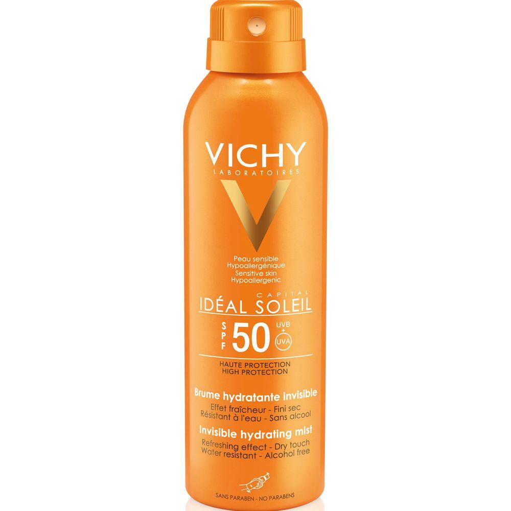 Protector-Solar-facial-Ideal-Soleil-Bruma-hidratante-invisible-FPS-50---x-200-ml