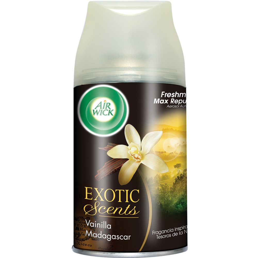 Repuesto-Freshmatic-Exotic-Scents-Vainilla-Madagascar-x-250-ml