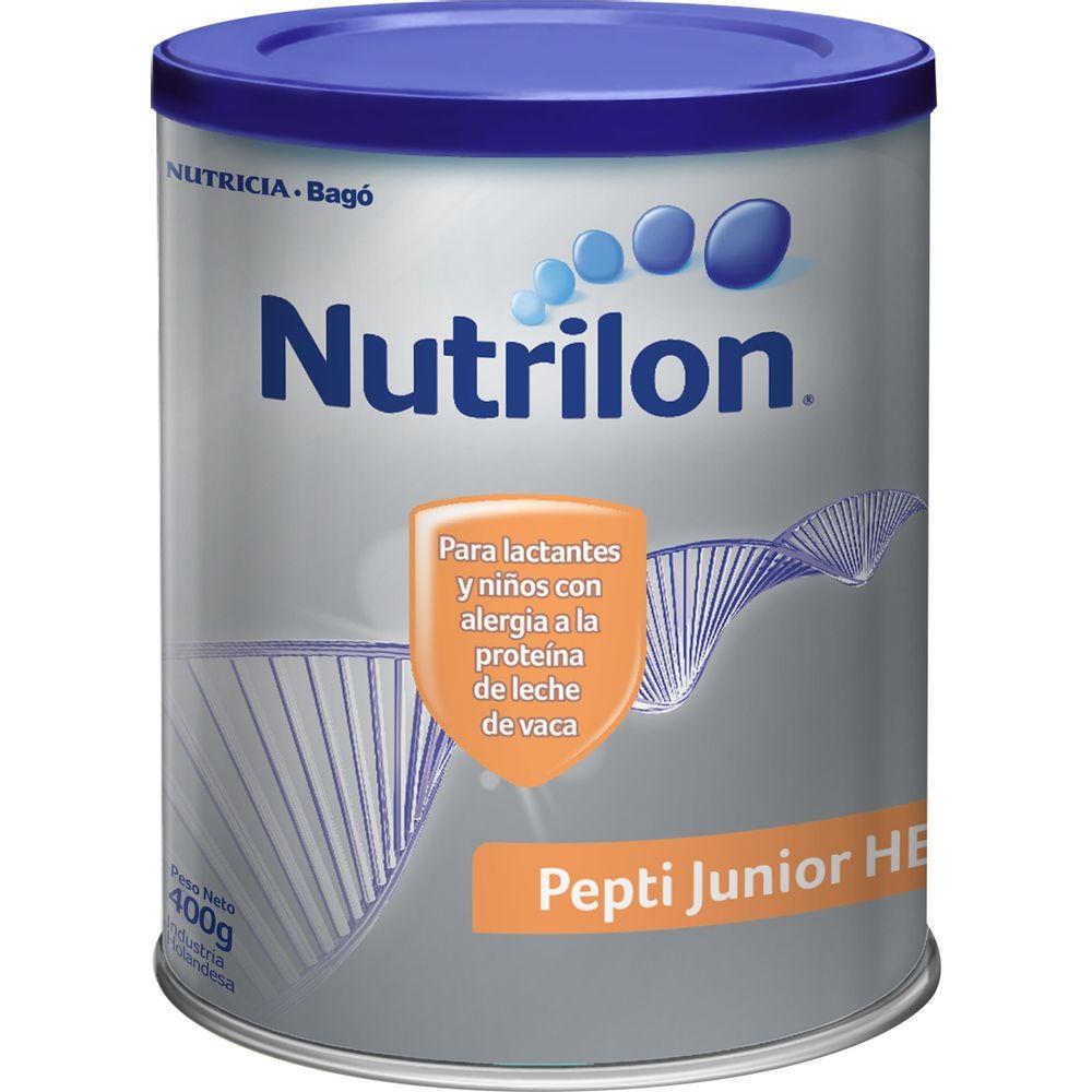 "Resultado de imagen para leche medicamentosa ""Nutrilon Pepti Junior HE"","