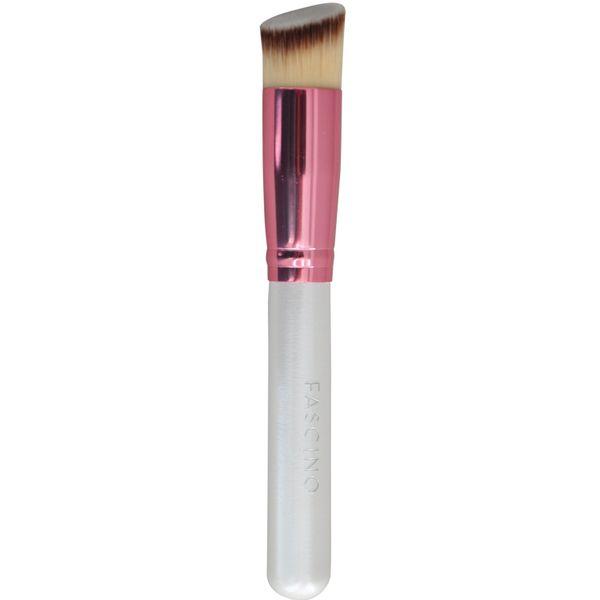 Brocha-maquillaje-liquido-y-cremoso-con-punta-Diagonal