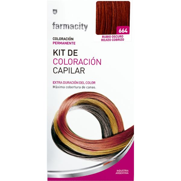 Kit-Coloracion-664-Rubio-Oscuro-Rojizo-Cobrizo