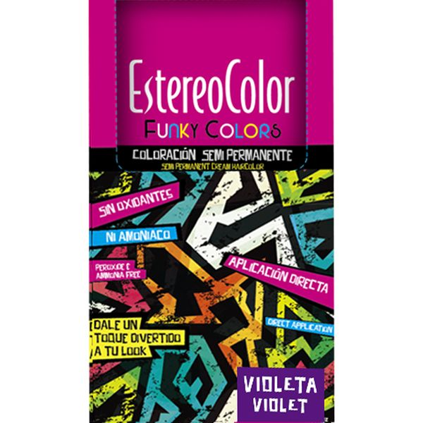 Tintura-para-Coloracion-Semi-Permanente-Funky-Colors-Violeta-x-47-gr