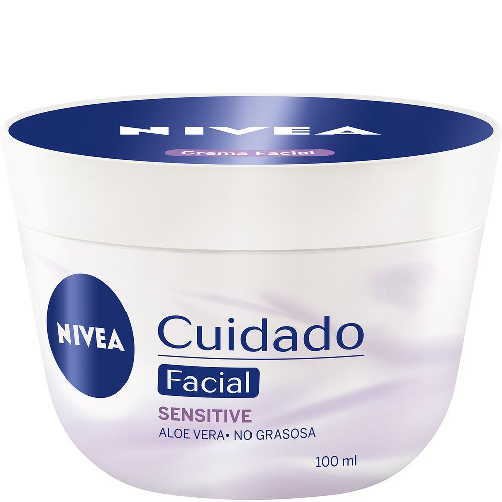 Crema-Facial-Nivea-Cuidado-Sensitive-pote-x-100-Ml