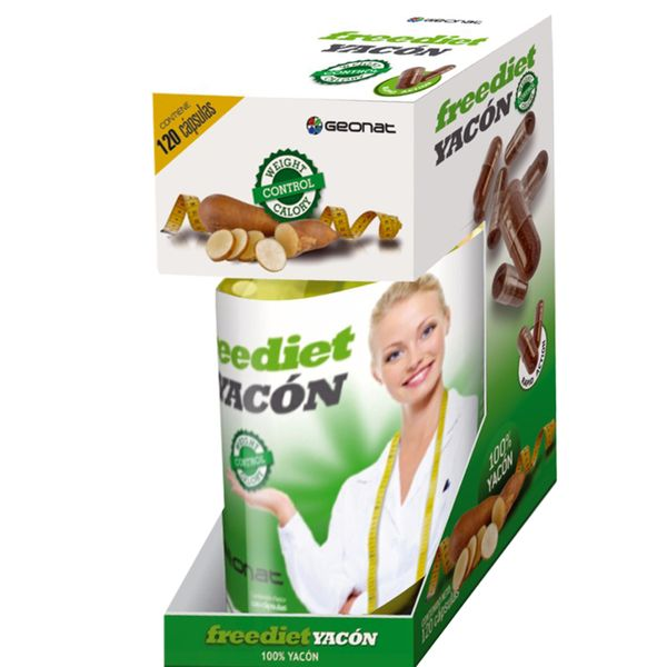 Suplemento-dietario-Free-Diet-Yacon-x-120-capsulas