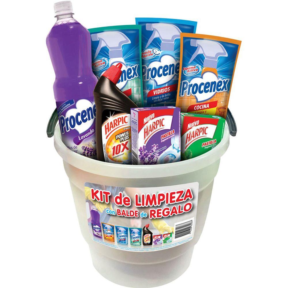 Combo-limpieza-Procenex-y-Harpic-mas-balde-gratis