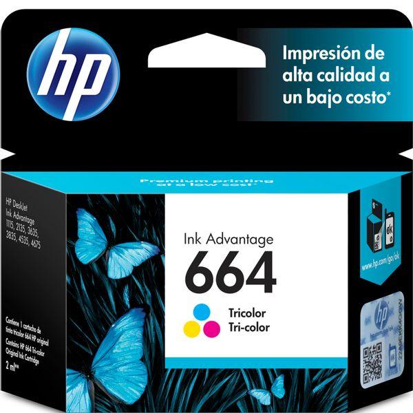 Cartucho-HP-664-Tricolor