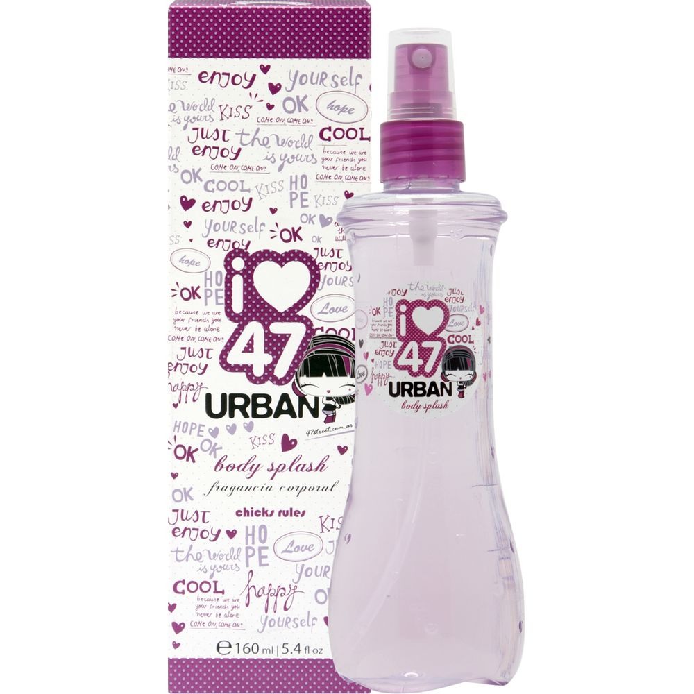 Body-Splash-Urban-natural-spray-x-160-ml