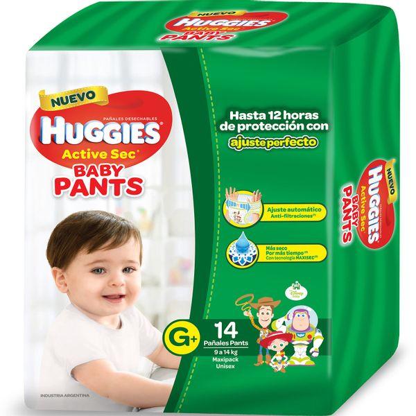 Pañales-Huggies-Active-Sec-Pant-Megapack