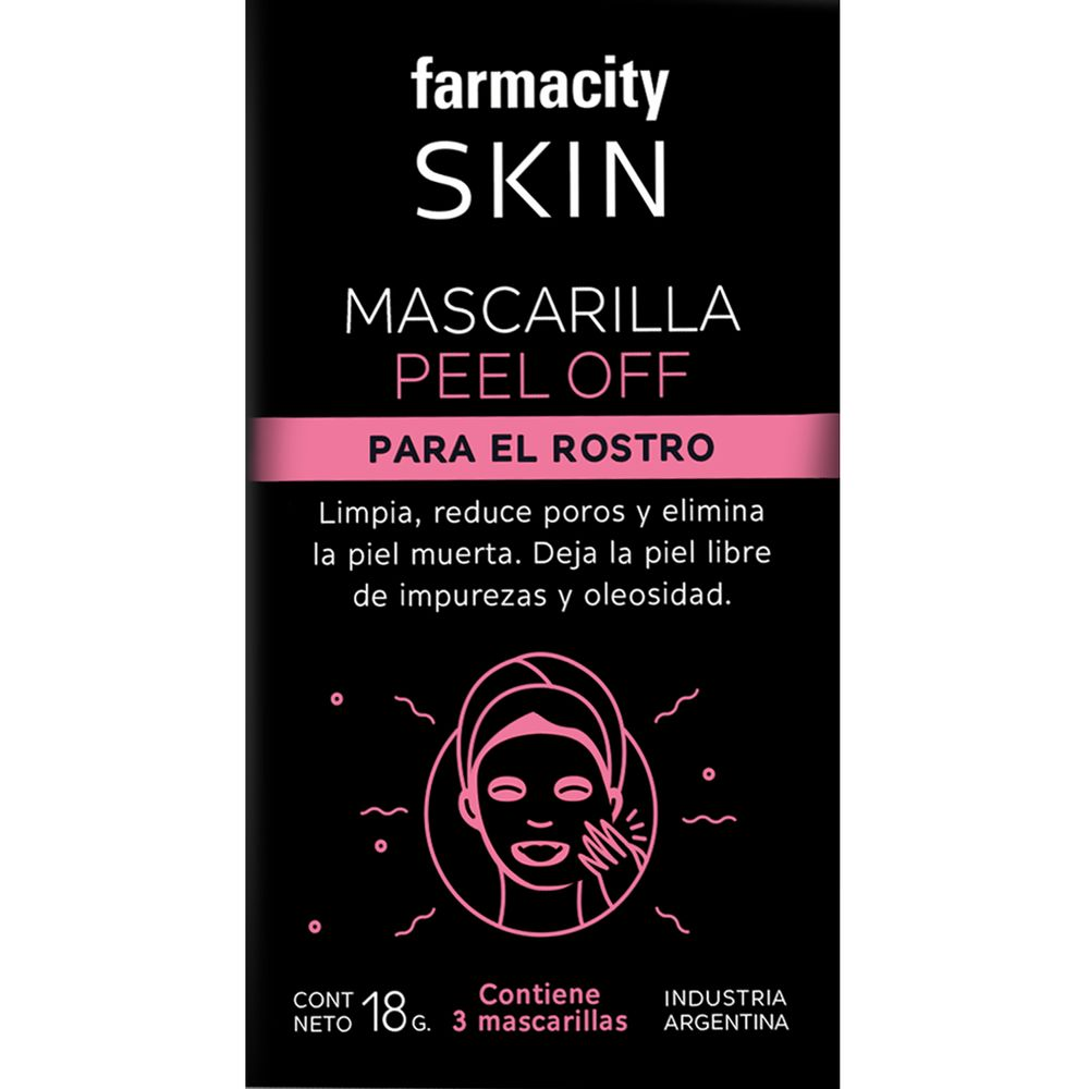 Mascara-Facial-Farmacity-Skin-Peel-Off-X-3-Un