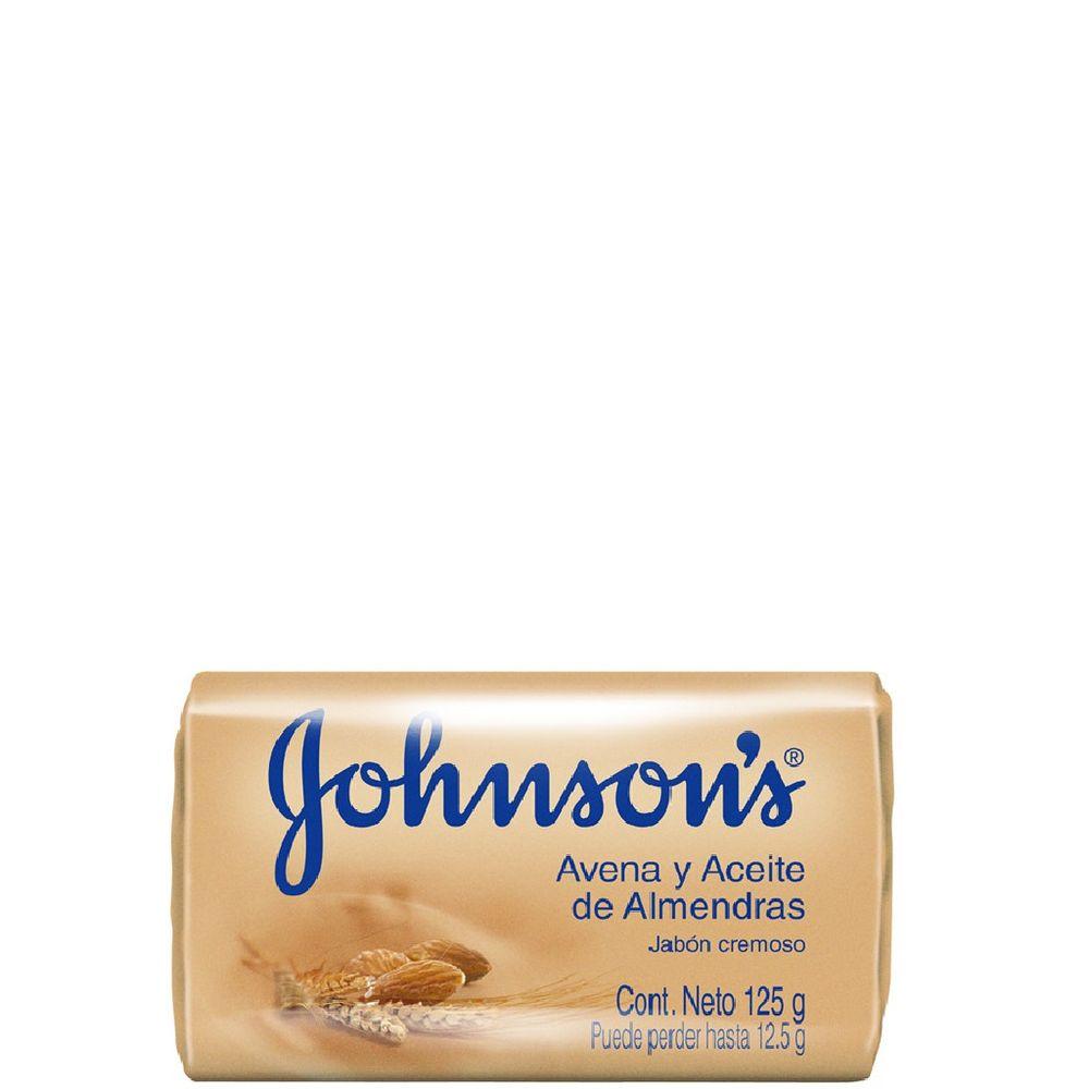 Jabon-Johnson-s-Adulto-Avena-y-Aceite-de-Almendras-Pack-en-barra-x-125gr