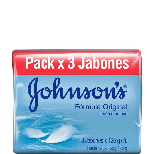 Jabon-Johnsons-Adulto-Orginal-Pack-x-3-x-125-Gr