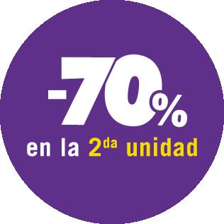 2° al 70%