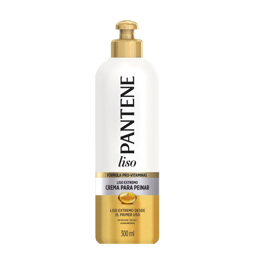 crema-para-peinar-pantene-pro-v-liso-extremo-botella-x-300-ml