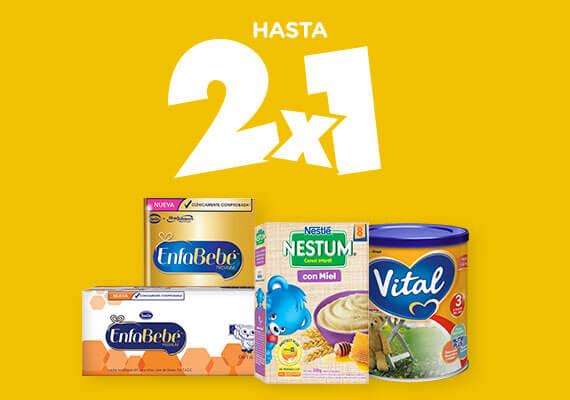 Nutricion Infantil hasta 2x1