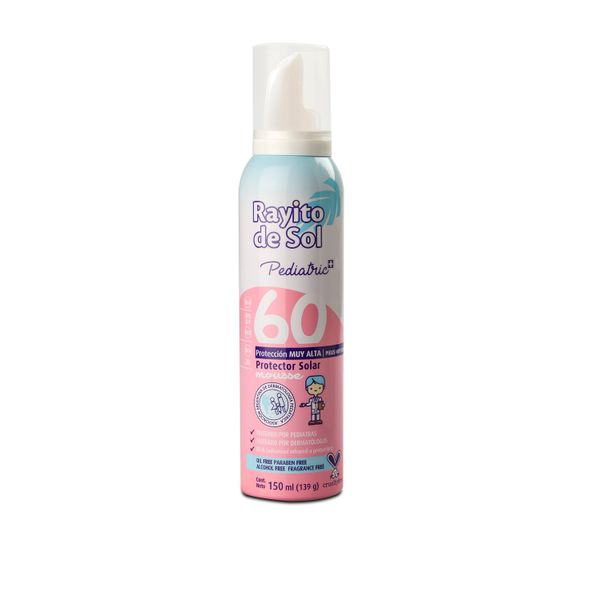 rayito-de-sol-mousse-solar-fps-60-pediatrics-x150-ml