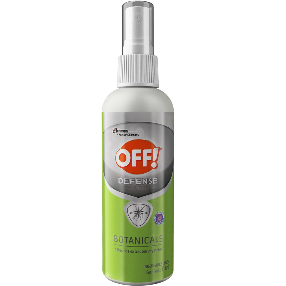 repelente-off-defense-botanicals-spray-x-118-ml