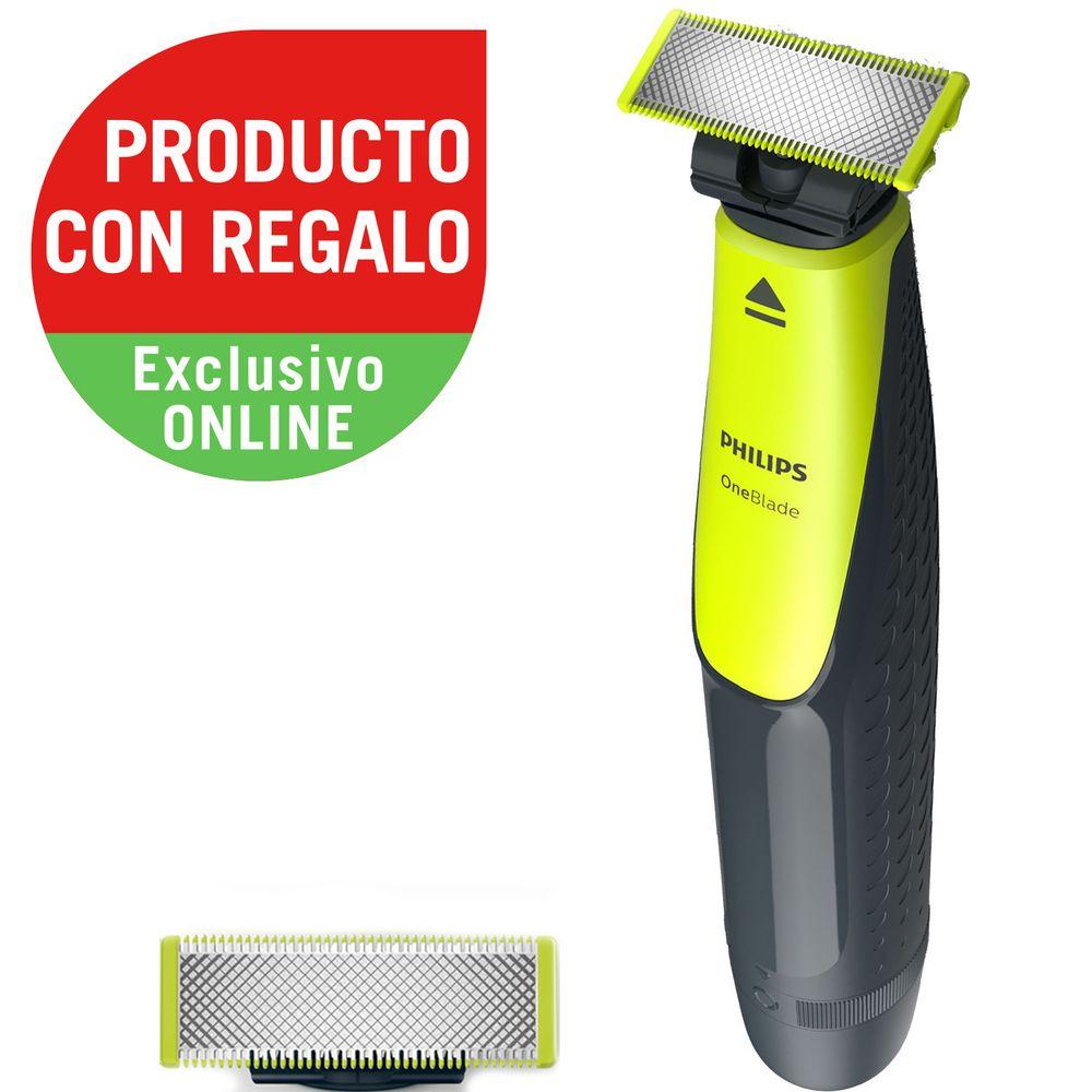 combo-de-afeitadora-philips-oneBlade-qp251010-repuesto-philips-de-regalo