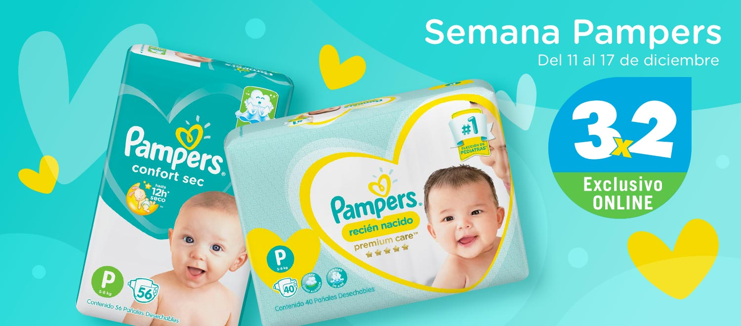 Pampers 3x2