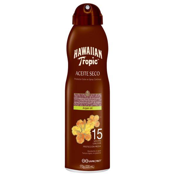 protector-solar-en-spray-hawaiian-tropic-aceite-seco-con-argan-fps-15-x-170-gr