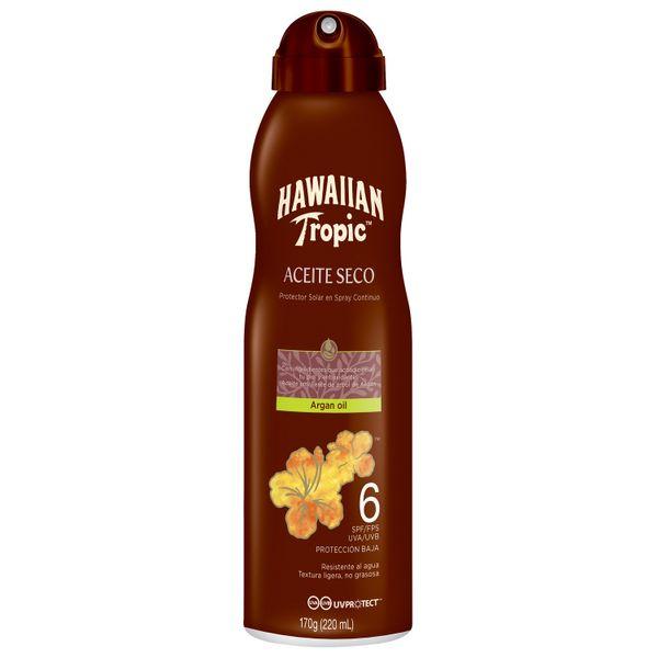 protector-solar-en-spray-hawaiian-tropic-aceite-seco-con-argan-fps-6-x-170-gr