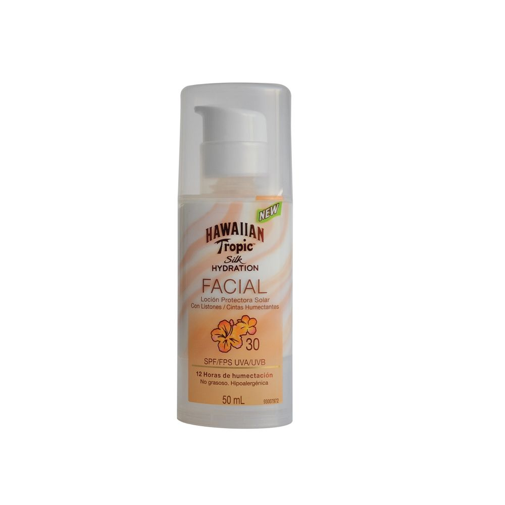 locion-protectora-solar-facial-hawaiian-tropic-silk-hydration-fps-30-x-50-ml