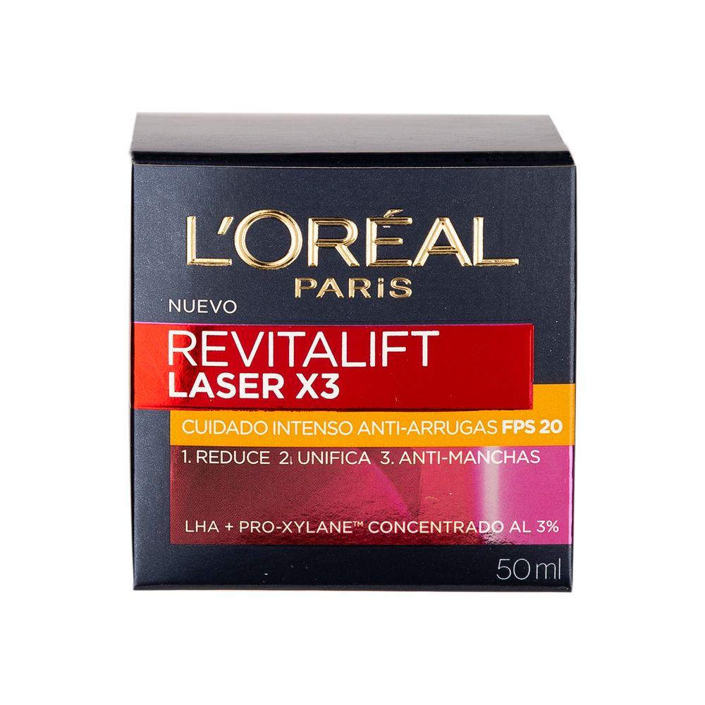 crema-anti-manchas-loreal-paris-revitalift-laser-fps-20-x-50-ml