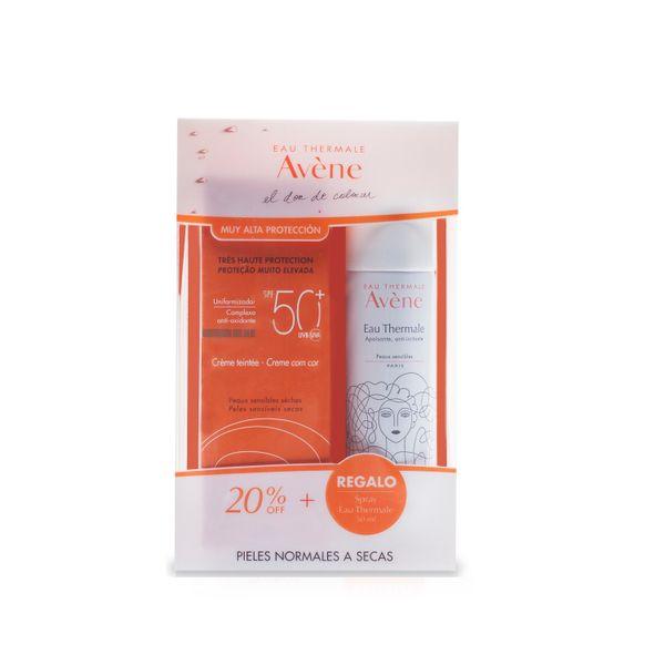 pack-protector-solar-crema-fps-50-con-color-agua-termal-avene-x-50-ml-de-regalo