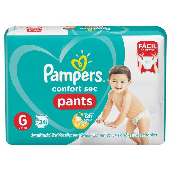 209625-Paniales-Pampers-Pants-Hiperpack-talle-G-frente-imagen-1