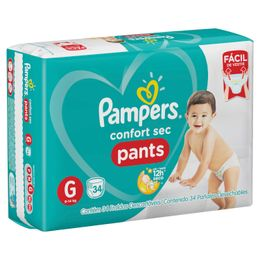 209625-Paniales-Pampers-Pants-Hiperpack-talle-G-lateral-imagen-2