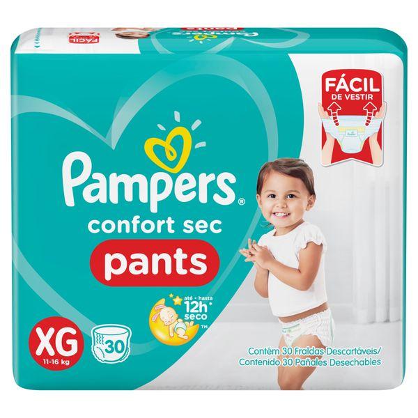 209626-Paniales-Pampers-Pants-Hiperpack-talle-XG-frente-imagen-1