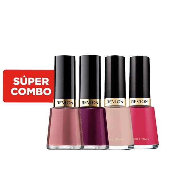 combo-de-esmaltes-pink-revlon-nail-enamel-x-4-un