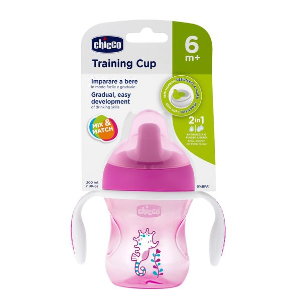 vaso-chicco-training-cup-6-m-rosa-violeta-x-200-ml