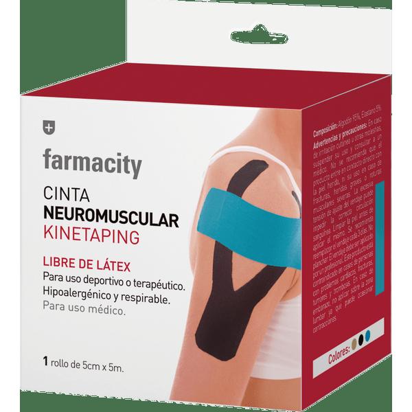 cinta-adhesiva-elastica-farmacity-neuromuscular-kinetaping-beige-5-cm-x-5-m